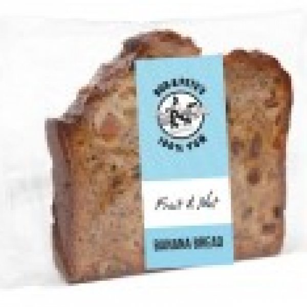 Individually Wrapped Fruit & Nut Banana Bread