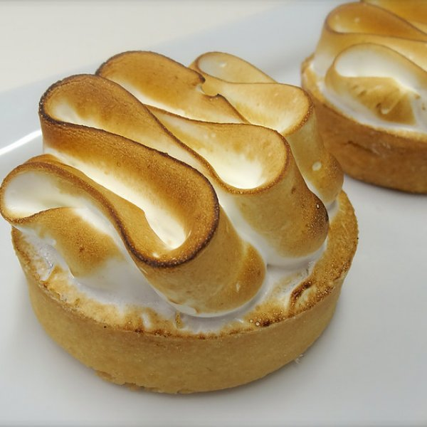 Individual Lemon Meringue Tart