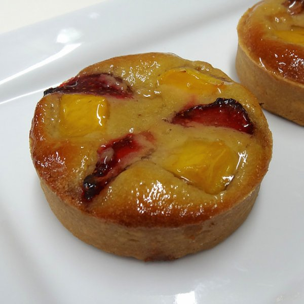 Individual Mango & Strawberry Tarts