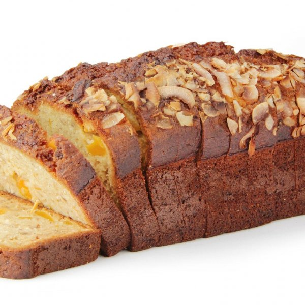 Mango & Coconut Banana Bread