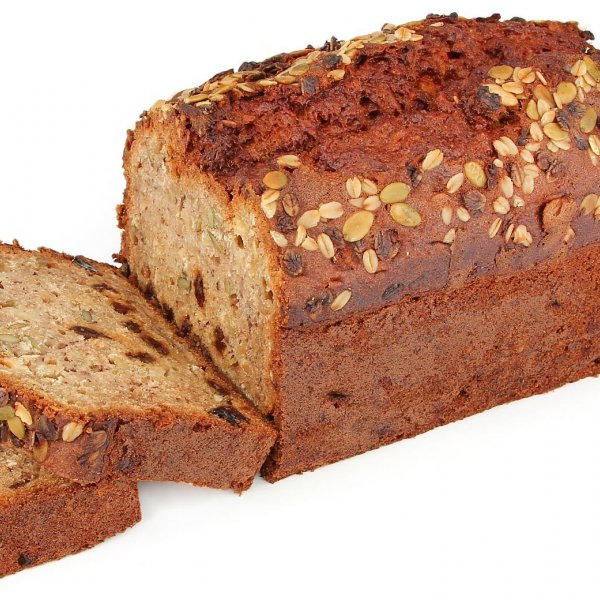Breakfast Muesli Banana Bread