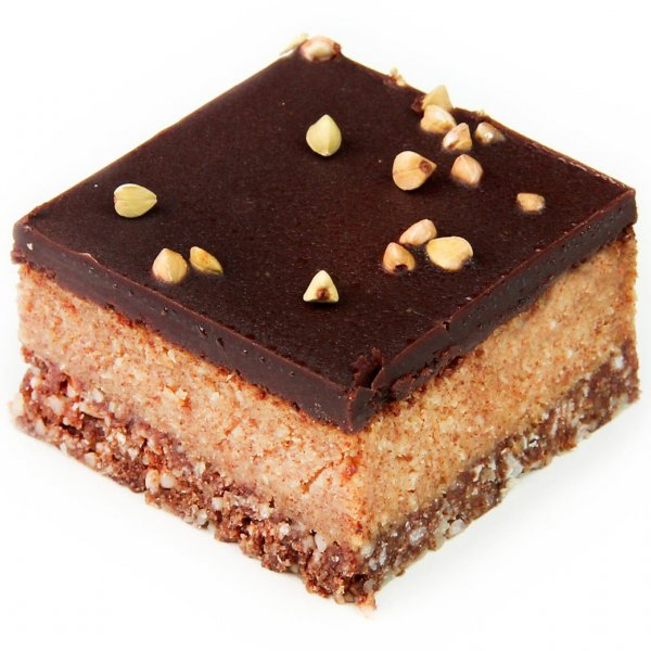 Li'l Sprout Vegan Raw Salted Caramel Slice (GF)